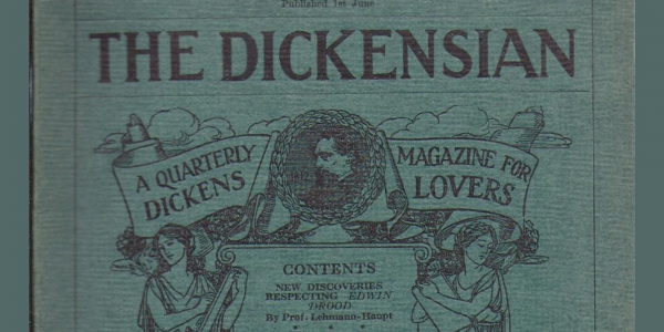Cover of the Summer 1929 Edition of The Dickensian.